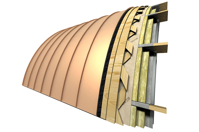 Seam Roofing Assembling