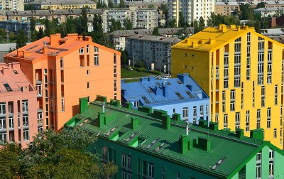 """Comfort Town"" housing estate, Kiev city"