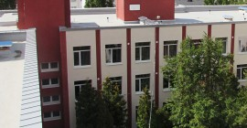 Roof of the one of the leading educational institutions -